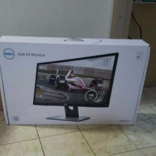 "BNIB DELL 24"" Monitor, SE2417HG"