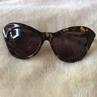 Oroton Tortoise Cat Eye Sunglasses
