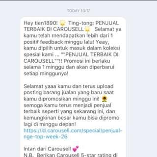 Thank U Carousell