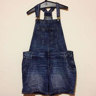 Jean Material Overalls