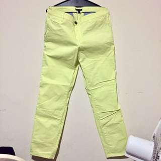 Tommy Hilfiger Yellow Jeans