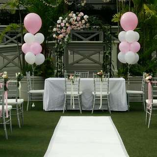 Wedding Decor Helium Balloons