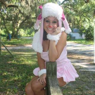 Poodle Costume Cosplay