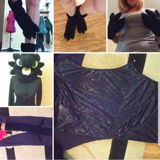Toothless Cosplay Costume Suit