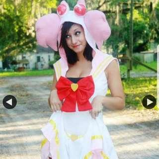 Chibiusa Sailor Moon Cosplay Costume