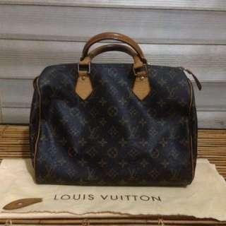 Auth. Louis Vuitton Speedy 30