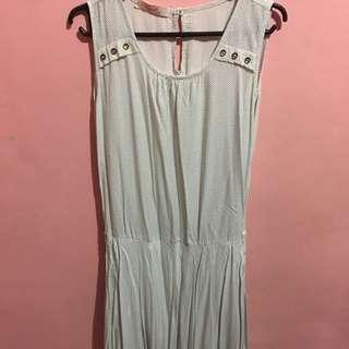 White Crissa Dress