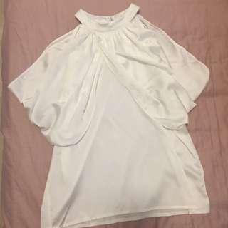 (全新)白色襯衫