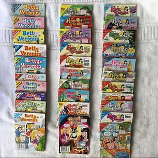Archie Comics (Betty and Veronica Digest)