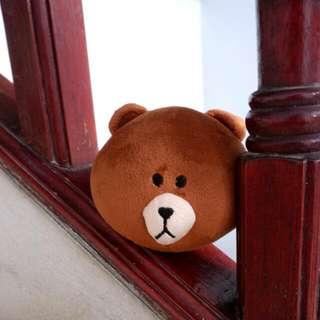 Free (Gratis) Key Chain Line Head Doll Brown