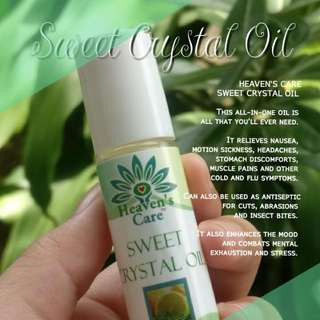 Heaven's Care Sweet Crystal Oil
