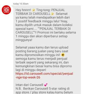 V - Recommended Seller by Carousell