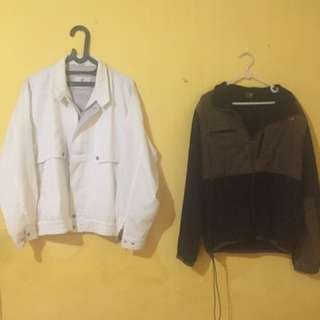jaket cowo  troy bros & the north face