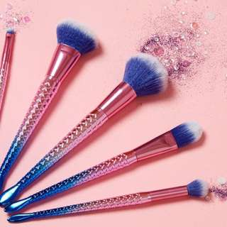 Brand New Mermaid Brushes