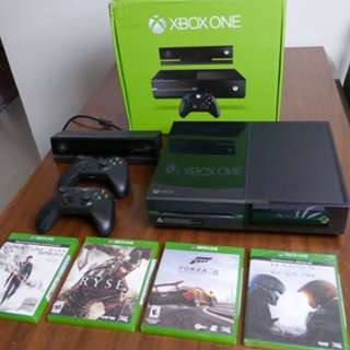 Xbox One With Kinect 2 And Games
