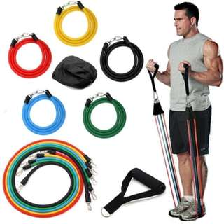 Free Postage - 1 Set of Elastic Fitness & Exercise Muscle Rope