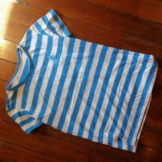 Ralph Lauren Stripped Blue T Shirt