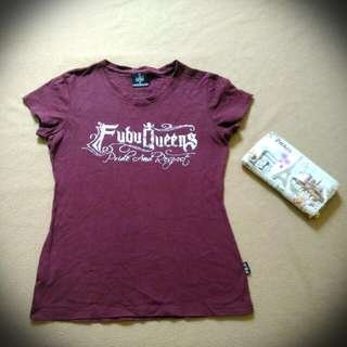 Preloved Shirt Fubu Queens