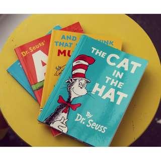 Mini Books - Dr. Seuss
