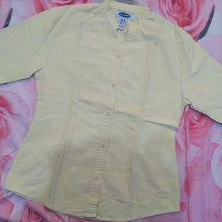 Kemeja Old Navy Kuning Muda Size L