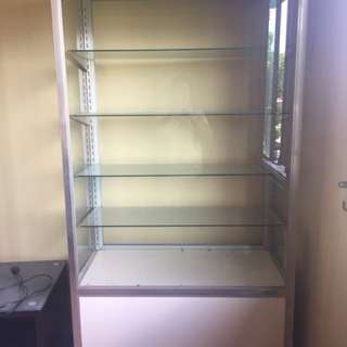 Glass Display/Store Cabinet