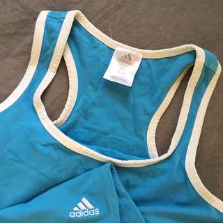 Activewear Adidas Blue Top