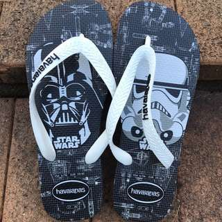 [LIMITED EDITION] HAVAIANAS Star Wars Flip flops