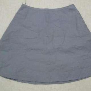 Checkered Flare Skirt