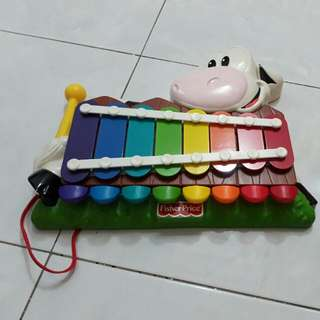 Fisher Price Moo-sical Piano-to-Xylo