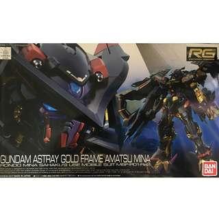 Ready Stock - Gundam Astray Gold Frame Amatsu Mina (RG)