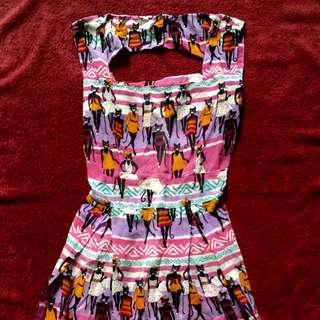 Cat Midi Dress