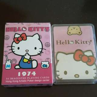 Brand New Hello Kitty Poker Card From Hong kong