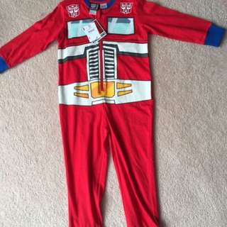Transformers Onesie Pajamas for Boys