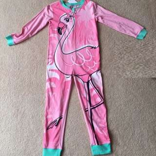 Flamingo Onesie Pajamas for girls