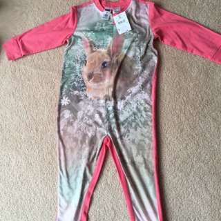 Bunny Onesie Pajamas for girls