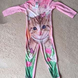 Kitten Onesie Pajamas for girls