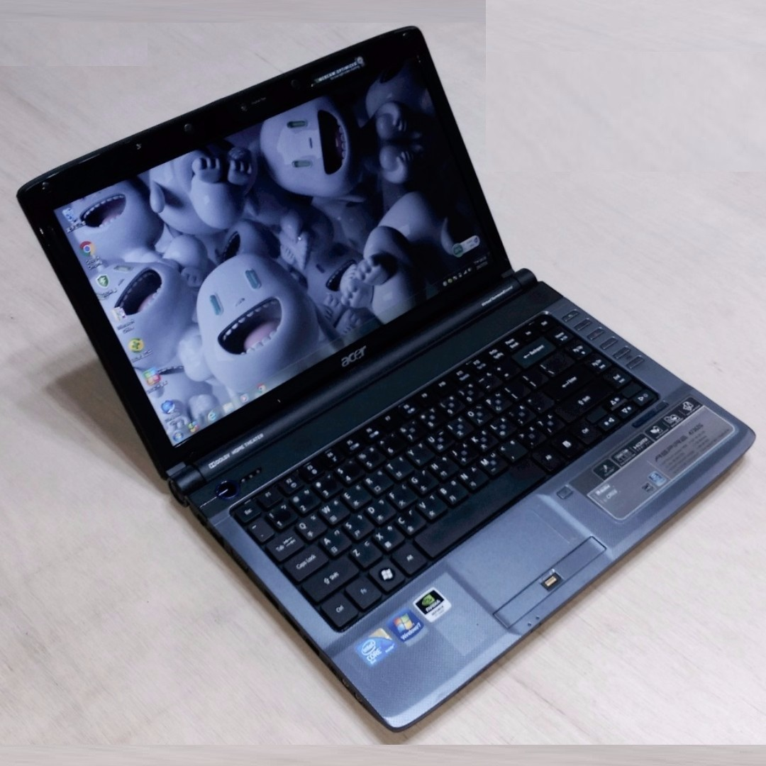 14.1吋 WXGA 高亮度LED 鏡面寬螢幕 ACER 4736G 雙核心/獨顯 筆電 可玩LOL Notebook / Laptop !!
