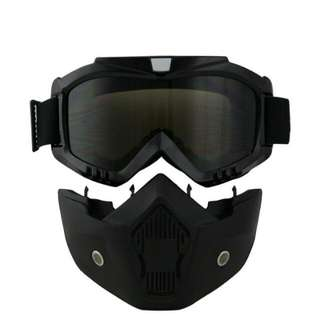 Retro Goggle + Face Mask