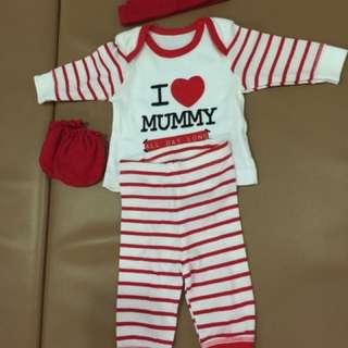 1set Baju Newborn