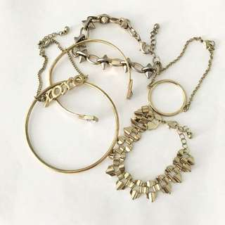 H&M Fashion Accessory - One Price For All 6 Pcs.