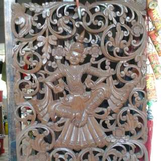 Antique Real Wood Carving