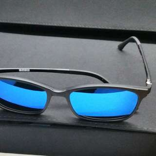 6ebb0a077aa9 Authentic TR90 Magnetic Clip On Sunglasses 2022 Blue Degree Lenses Ready  Spectacle Mirror Coat Frame