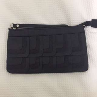 Black Zip Purse