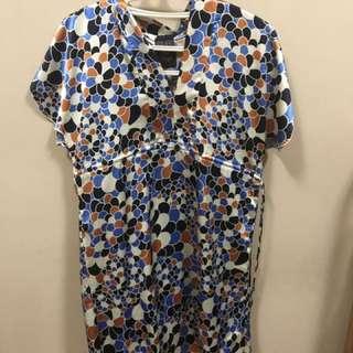 Bayo Silk Kimono Dress