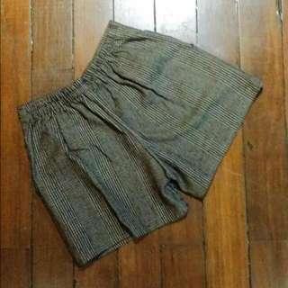Stripped Gray Shorts