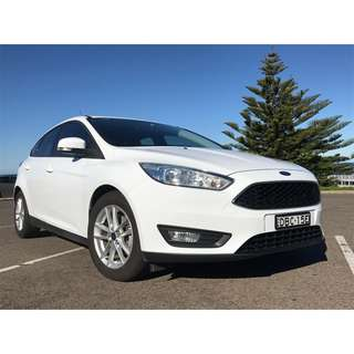 MY16 Ford Focus LZ EcoBoost Automatic
