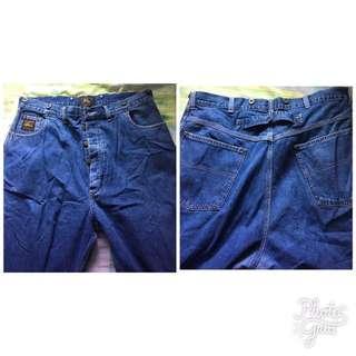 Double RL牛仔褲美國製造