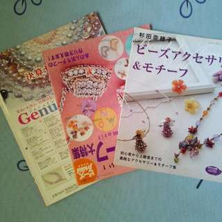 Beads Craft Books Japan