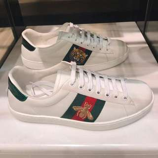 Gucci Ace Low Top Embroidered Sneaker