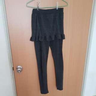 棉質舒適兩件式內搭褲